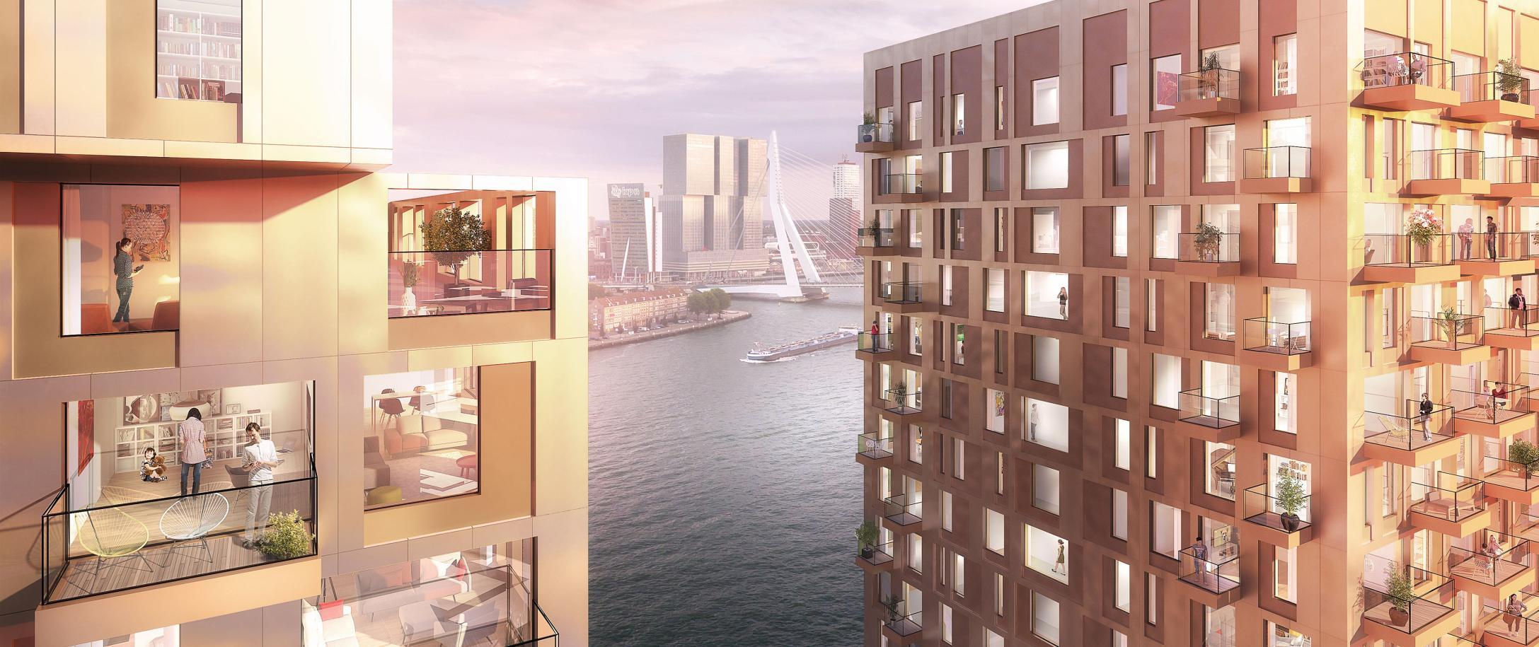 Appartementen Boompjes Rotterdam