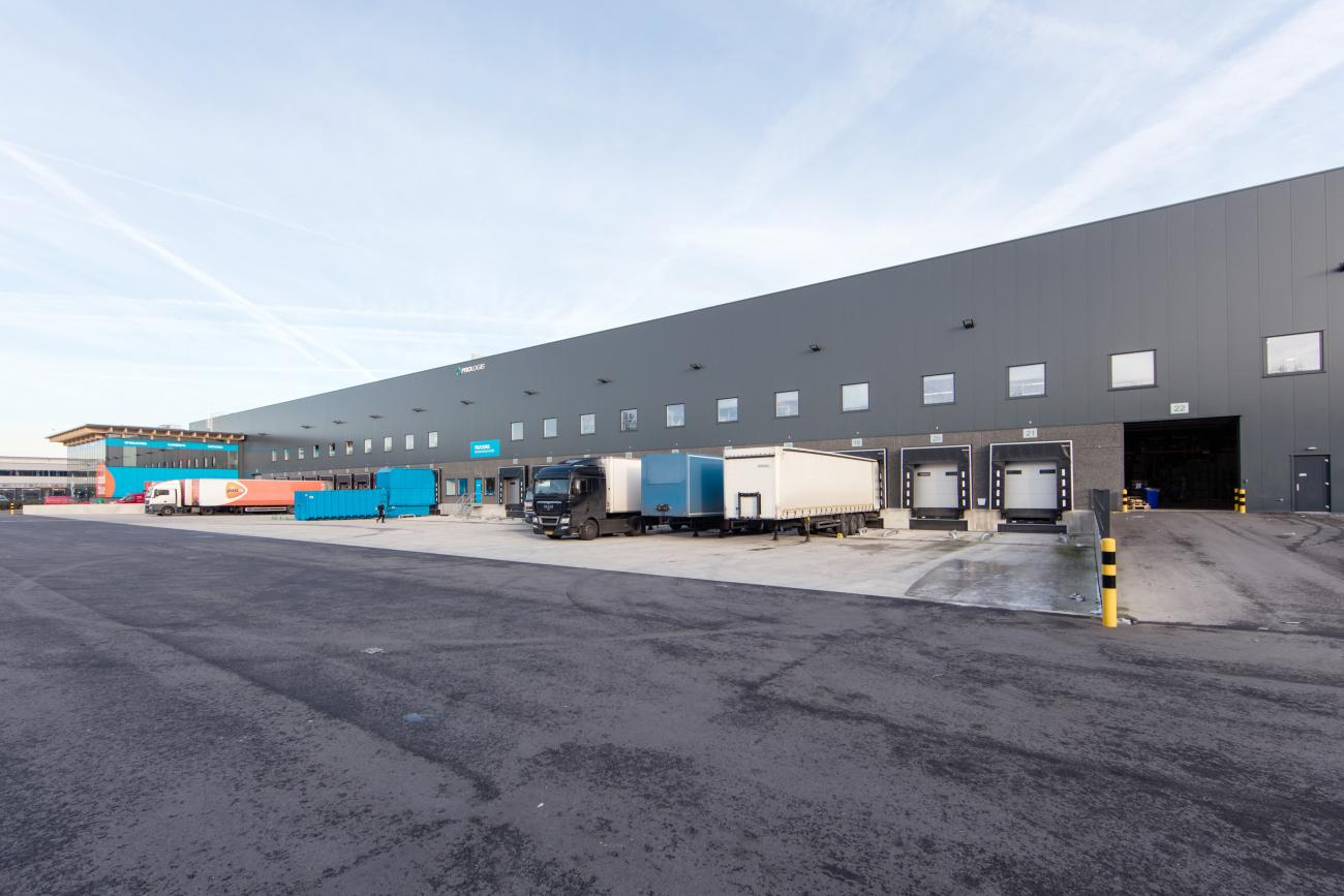 Prologis CoolBlue buiten