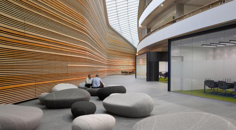 Nieuw hoofdkantoor BP Nederland in Europoort