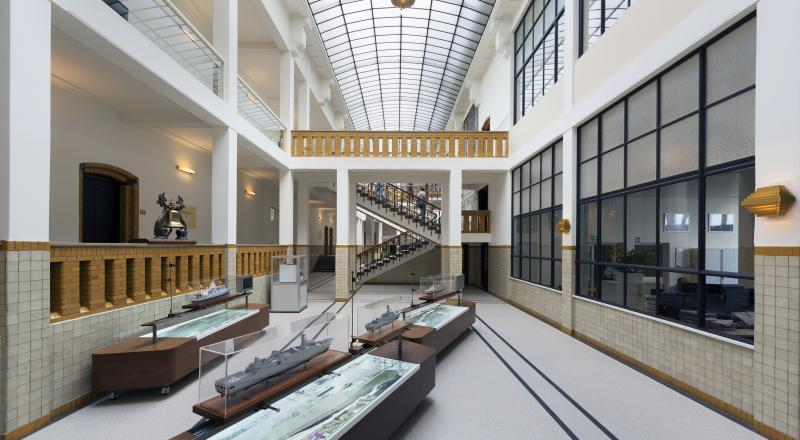 Renovation of Damen's monumental headquarters