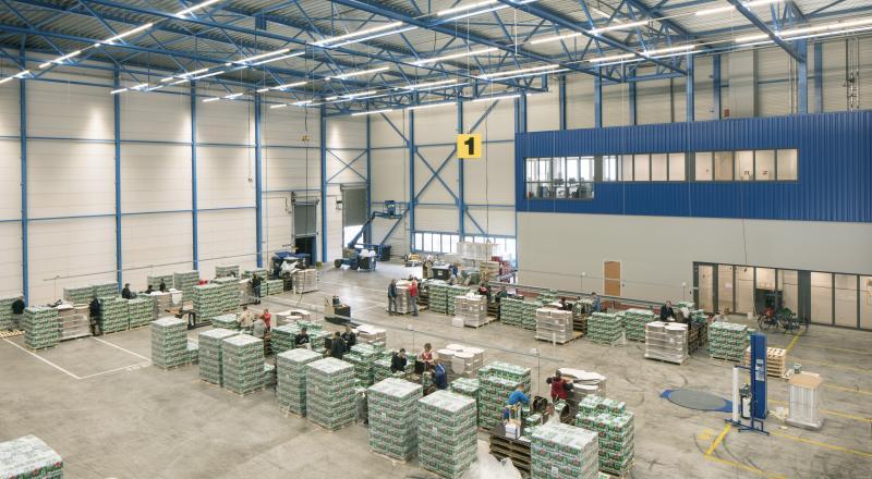 Nieuwbouw magazijn & distributiecentrum Hartog & Bikker
