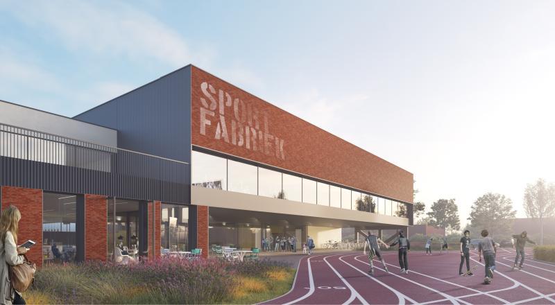 Multifunctioneel sportcentrum Hellevoetsluis