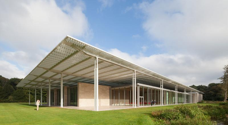 Construction of Voorlinden Museum in Wassenaar