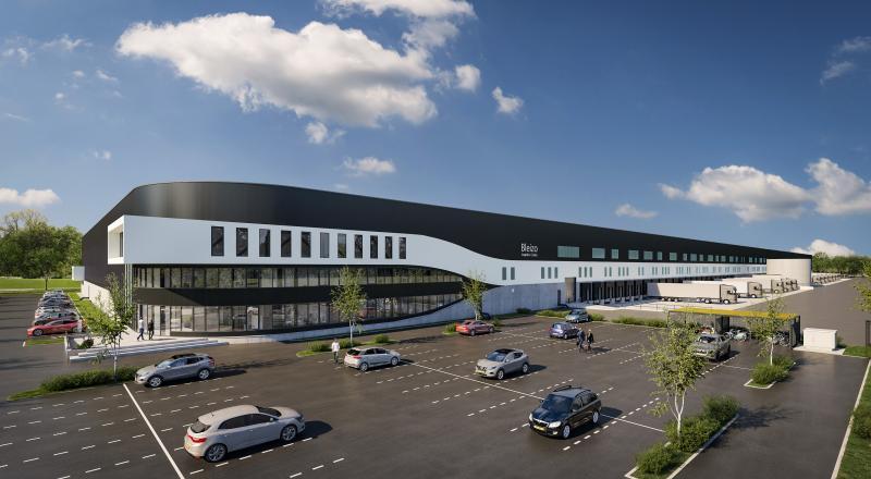 Duurzaam distributiecentrum van 49.000 m2 in Bleiswijk