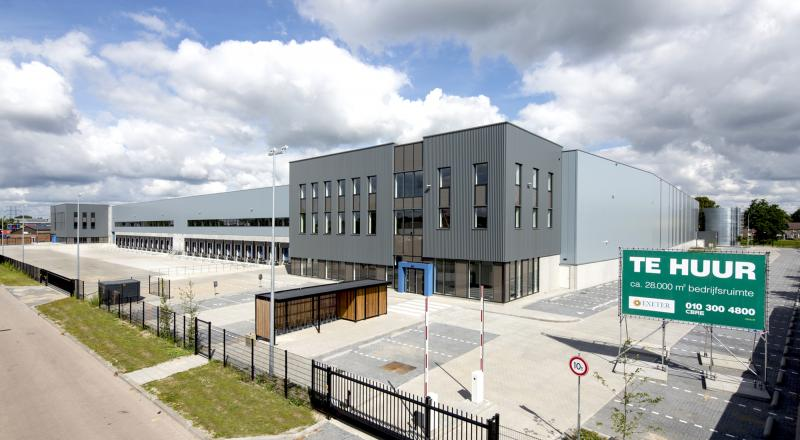 New-build distribution centre and offices Ekkersrijt