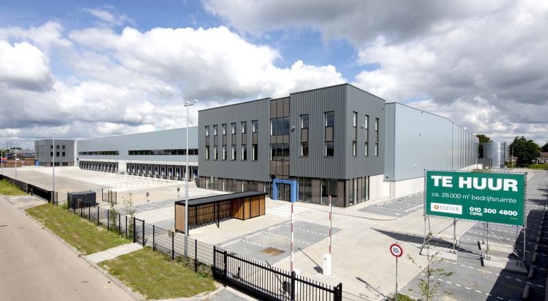 Nieuwbouw distributiecentrum en kantoren Ekkersrijt